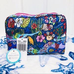 NWT 🌺🌊 LeSportsac Hawaii Cosmetic Bag